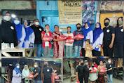 E Sports Indonesia Cabang Gresik Berbagi Sembako Warga Anjal