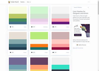 موقع Color Hunt