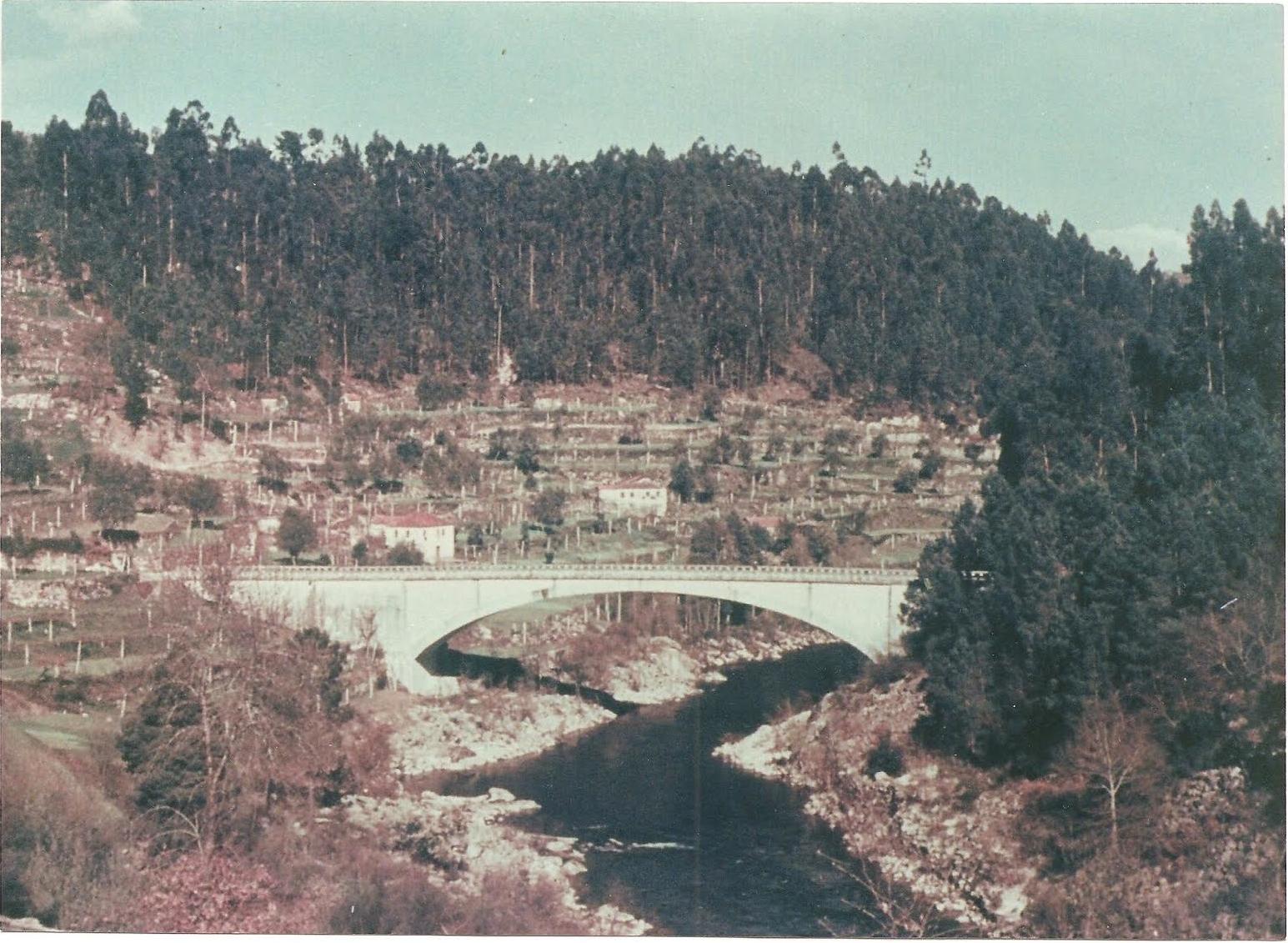 Antiga Ponte de Abragão ou Ponte do Canal