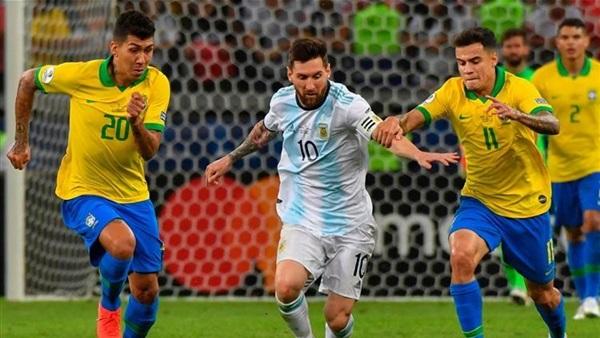مشاهدة مباراة الارجنتين والبرازيل بث مباشر اون لاين 15-11-2019