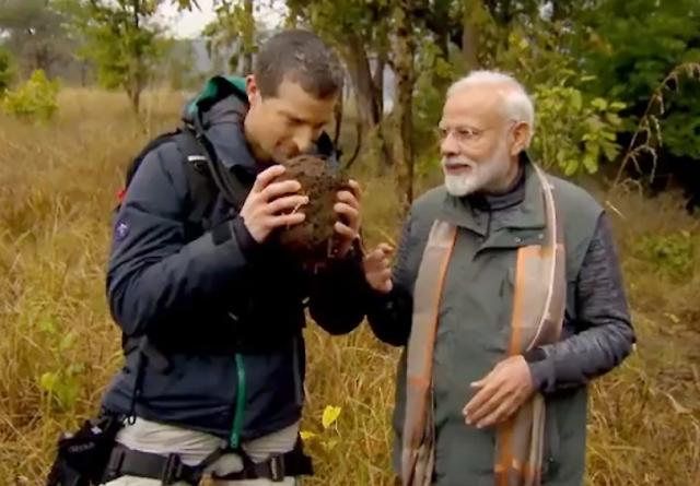 "Man vs Wild, PM Narendra Modi ""The adventure tourist"""