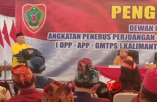Gubernur Kukuhkan DPP APP-GMPTS Kalteng