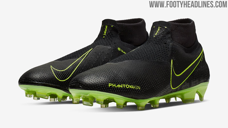 premium selection 03214 335cd Black / Volt Nike Phantom Vision 'Under the Radar' Boots ...