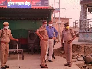 कालपी एवं थाना आटा में  पैदल गस्त कर वाहन चेकिंग कर सोशल_डिस्टेंसिंग का पालन करने हेतु जागरुक किया -ADM,ASP जालौन                                                                                                                                                                              संवाददाता, Journalist Anil Prabhakar.                                                                                               www.upviral24.in
