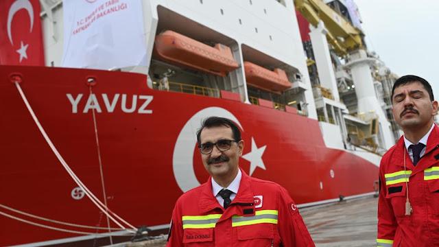 Τούρκος υπουργός Ενέργειας: Η ανατολική Μεσόγειος είναι θέμα των 82 εκατομμυρίων Τούρκων