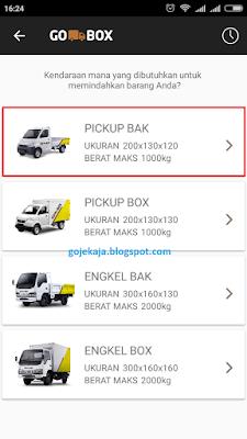 Cara Memesan GO-BOX cara order go box