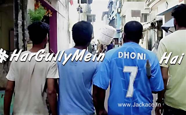 Har Gully Mein Dhoni Song