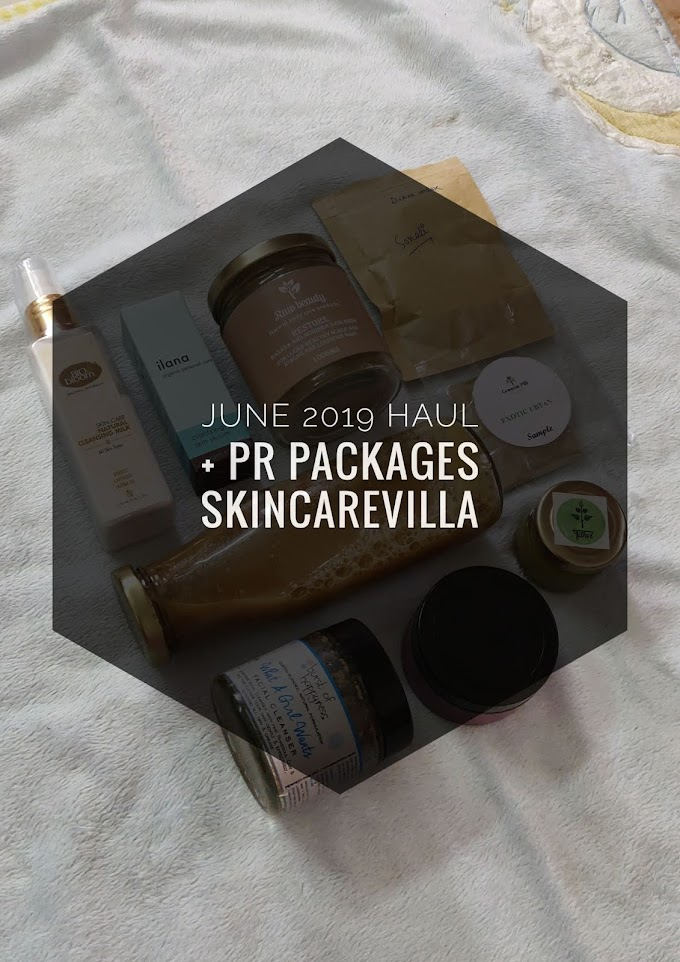 June 2019 Hauls + PR Packages
