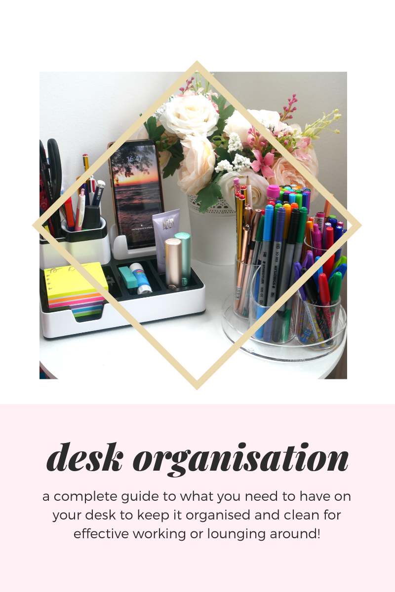 teacher desk organisation