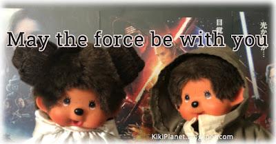 kiki Monchhichi princesse leia luke Skywalker sea wars cosplays may the force