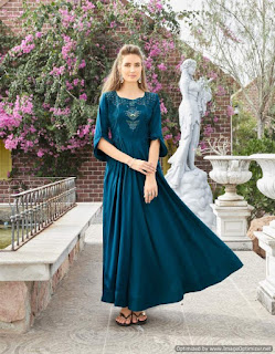 Lymi Crown Indo Western Gown buy wholesale