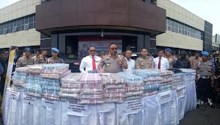 Polisi berhasil Menyelamatkan Rp120 M Aset Memiles