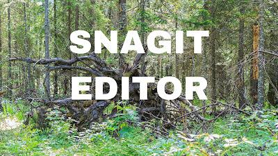 Snagit Editor Untuk di Instal wajib tahun 2020