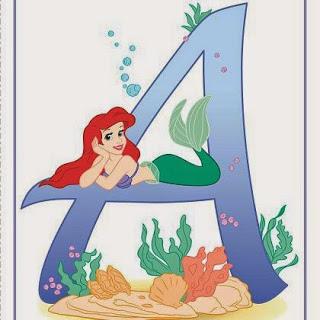 Abc con Personajes de Disney.