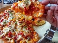 Resep dan Cara Membuat Pizza Sederhana Menggunakan Alat Masak Teflon
