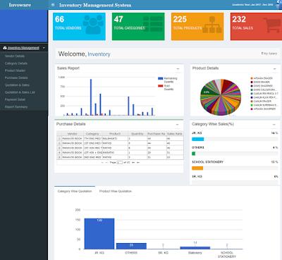 برنامج ادارة المخازن والمستودعات Inventory Management Software