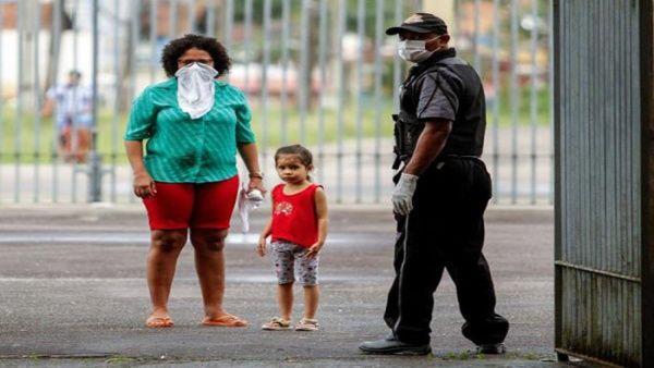 Brasil reporta 33.682 positivos por Covid-19 y 2.141 decesos