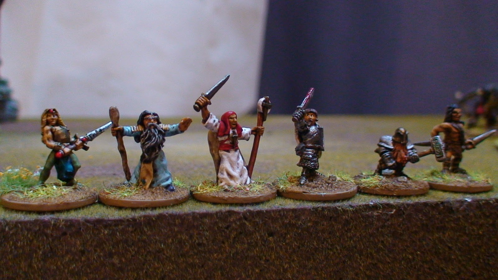 Dispatches from the front: 15mm Fantasy(IV) - The Heroes