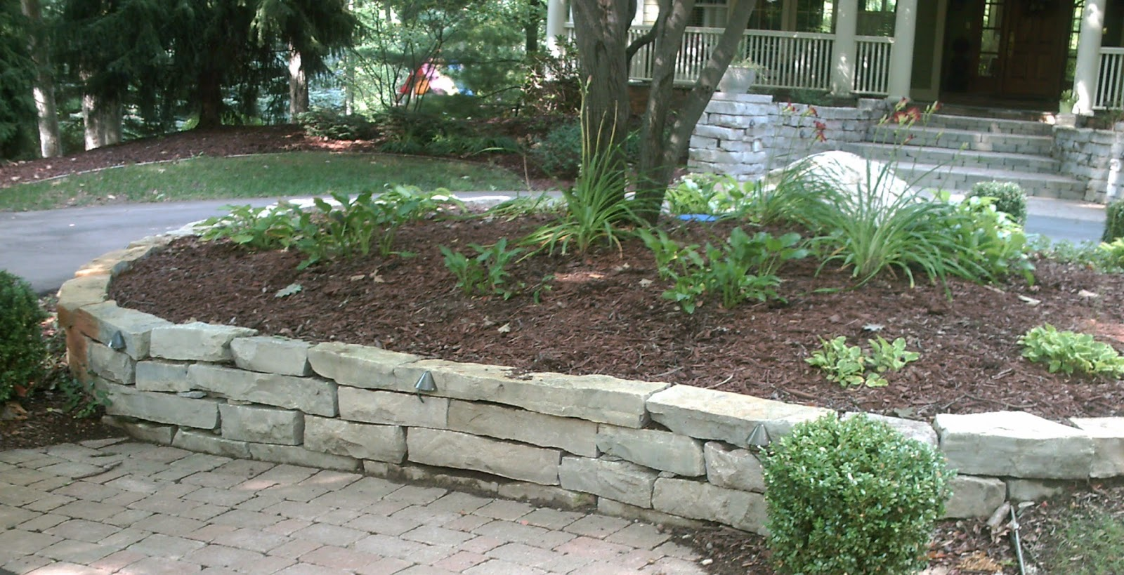 Chilton Dry Stacked Retaining Wall
