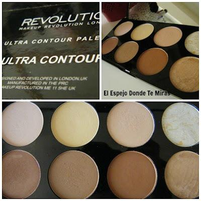 paletas makeup revolution contorno