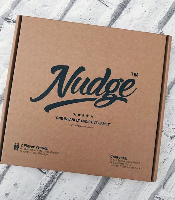 Nudge board game box