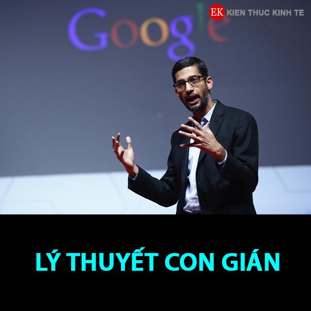 Lý thuyết con gián của Sundar Pichai - CEO Google từ 2015