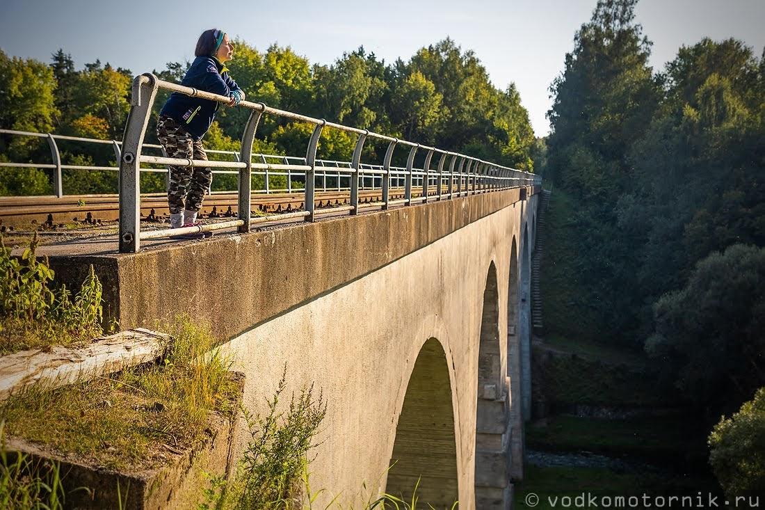ЖД мост в Токаревке