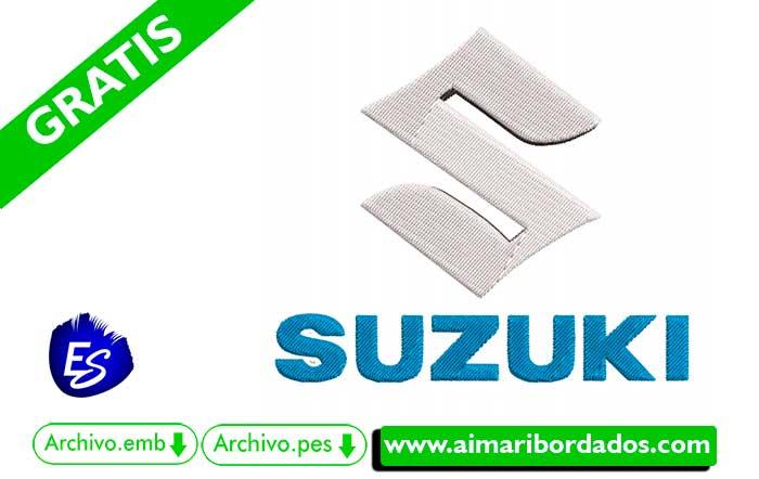Logo Suzuki Para Bordar