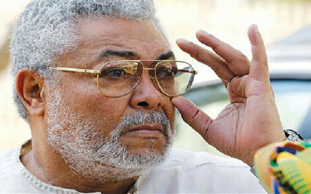 Jerry John Rawlings 'missing' at NDC manifesto launch