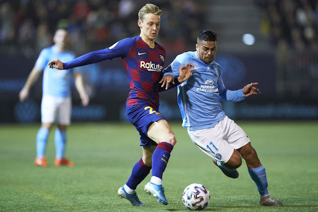 Video Cuplikan Gol: Ibiza 1-2 Barcelona (Copa del Rey)