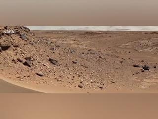 احدث فيديو ل NASA : صور جديدة بالالوان للمريخ نقلت من المسبار الذي نزل البارحة على سطح المريخ