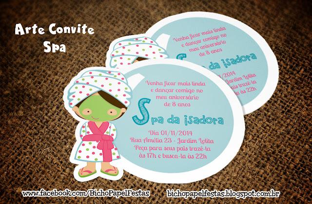 Convite Spa