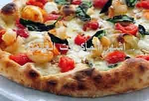 بيتزا بالجمبرى