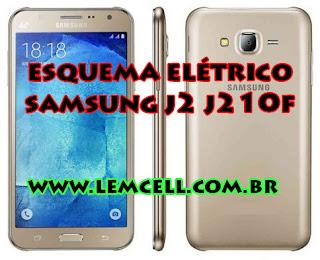 Esquema Elétrico Celular Smartphone Samsung Galaxy J2 J210F 2016  Manual de Serviço  Service Manual schematic Diagram Cell Phone Smartphone Samsung Galaxy J2 J210 F 2016