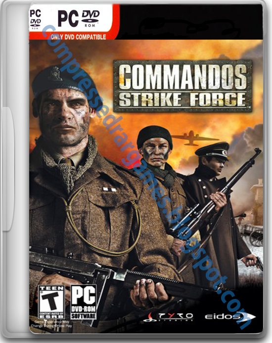 Commandos Strike Force Cover