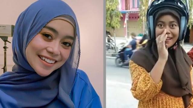Potret Pemotor Mirip Lesti Kejora Kepergok di Jalan, Publik: Kembaran yang Beda Nasib