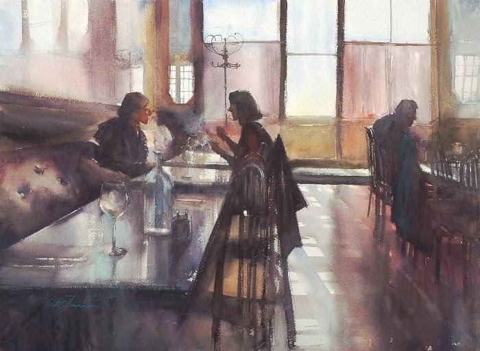 Японская художница-акварелист. Keiko Tanab