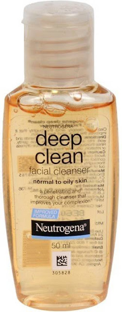 Top 10 Paraben-Free Face Wash in India for Oily, Sensitive, and Acne-Prone Skin - Neutrogena Deep Clean Facial Cleanser