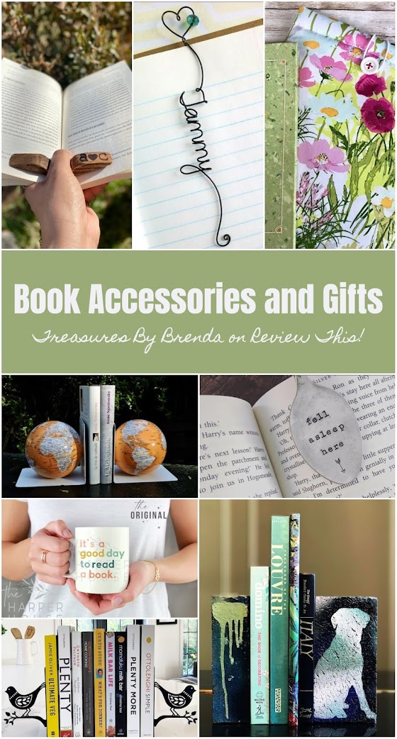 For those who love their books, here's a page full of book accessories and gift ideas.