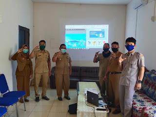 Sosialisasi dan Serah Terima Website PPID Kecamatan Tayan Hilir
