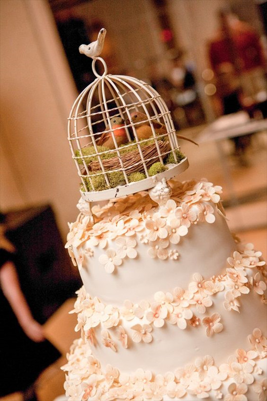fall wedding cakes and Pink vintage wedding cakes