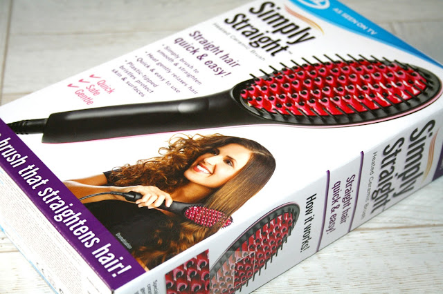 Simply Straight Hair Brush by JML