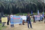 Tuntut Kepastian Kontrak Kerja, F-SPTI Tebo Gelar Aksi di PTPN VI Rimdu II
