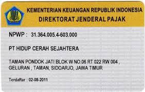 nomor pokok wajib pajak