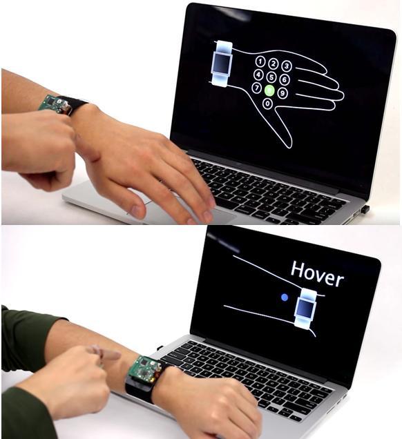 Teknologi Terbaru Ini Bikin Kulit Tangan Jadi Smartwatch