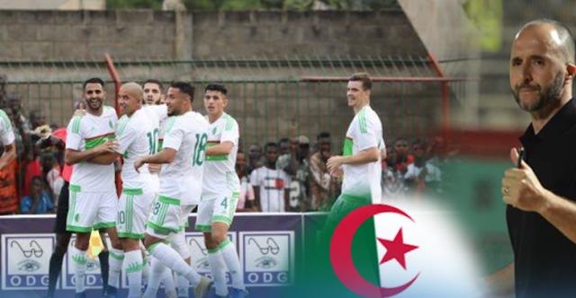 نتيجة مباراة الجزائر وكينيا اليوم في كاس امم افريقيا 2019