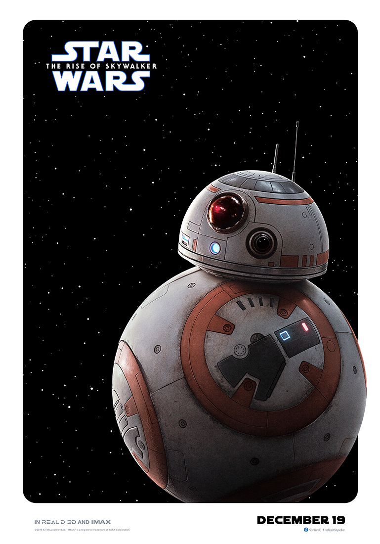 Star Wars: The Rise of Skywalker bb8 poster