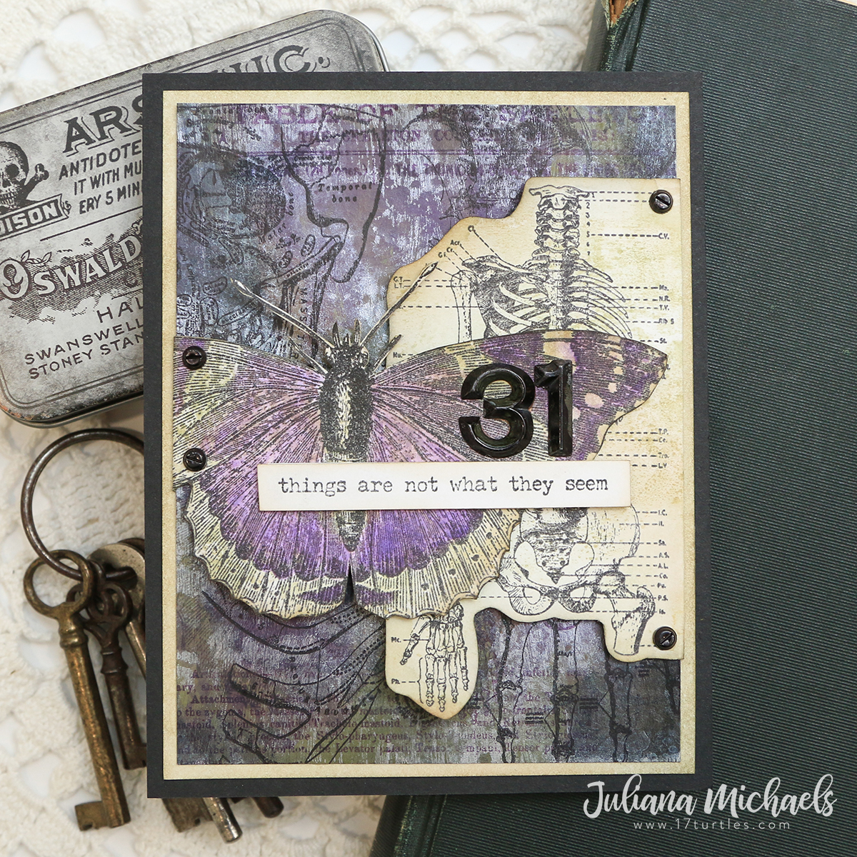 Tim Holtz Stampers Anonymous Halloween 2020 Things Are Not What They Seem   Tim Holtz 2020 Stampers Anonymous