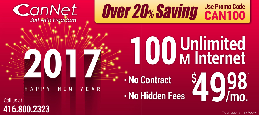 new year for many people is a best way to get the cable internet plans in canada with extra savings on it in the first week of january