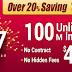 CanNet New Year Offer – Use CAN100 and Get Discount up to 20% on Cable Internet Plans.